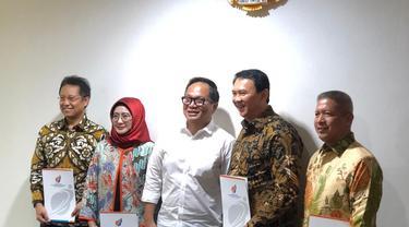 Basuki Tjahaja Purnama atau Ahok resmi diangkat menjadi Komisaris Utama PT Pertamina (Persero)