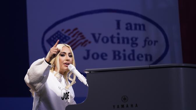 Lady Gaga Tampil di Kampanye Joe Biden, Malah Terkenang ...