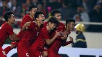 Timnas Vietnam di kualifikasi Piala AFC U-23 2020. (Bola.com/Dok. AFC)