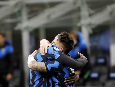 FOTO: Hajar Sassuolo, Inter Milan Kian Mantap di Puncak Serie A