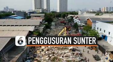 Pemkot Jakarta utara akan membenahi bekas lokasi penggusuran Sunter. Pemkot akan memperbaiki jalan dan saluran air. Sementara sebagian warga korban gusuran masih bertahan di lokasi