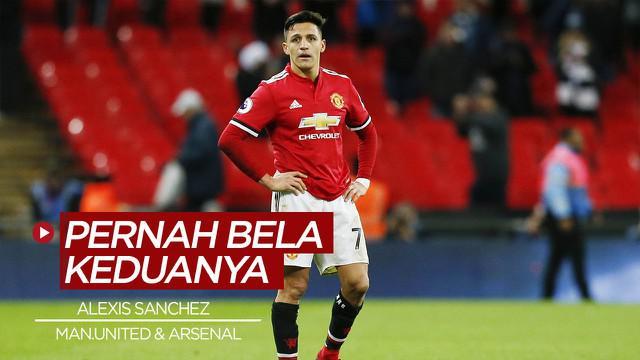 Berita video, pemain yang pernah membela Manchester United dan Arsenal salah satunya Alexis Sanchez