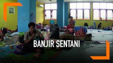 Banjir bandang yang terjadi di Sentani memakan banyak korban jiwa. Penanganan korban masih terus dilakukan pemerintah setempat meski status masa tanggap darurat bencana dicabut, berubah menjadi masa transisi.