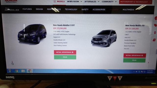 New Honda Mobilio 2019 (Honda)