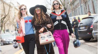 Pakaian Matching Dengan Sahabat? Street Style Terfavorit