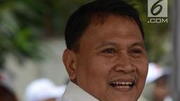 Wakil Ketua BPN, Mardani Ali Sera menghadiri deklarasi komitmen bersama menjelang kampanye rapat umum dan iklan kampanye Pemilu 2019, Jakarta, Sabtu (23/3). Bawaslu berharap deklarasi ini menjadi suatu komitmen semua pihak menciptakan Pemilu yang beretika dan bermartabat. (merdeka.com/Imam Buhori)