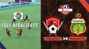 Berita video highlights Shopee Liga 1 2019, Kalteng Putra kalahkan Bhayangkara FC 3-2.