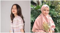 Potret Fani Remaja Disebut Mirip Adhisty Zara Versi Hijab. (Sumber: Instagram.com/ zaraadhsty dan Instagram.com/fanimey_)