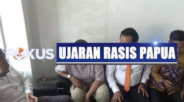Polisi menetapkan korlap aksi di asrama mahasiswa Papua di Surabaya jadi tersangka kasus dugaan ujaran rasis.