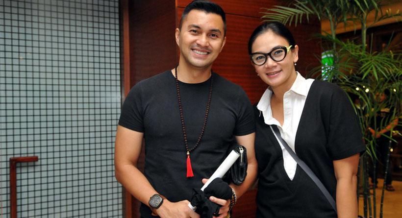 Anjasmara dan Dian Nitami. Foto: Panji Diksana/Liputan6.com
