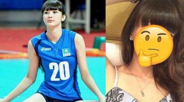 Kamu lebih suka penampilan atlet voli ini yang dulu viral atau malah lebih suka kecantikannya yang sekarang? (Foto: bastillepost.com)