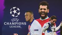 Kylian Mbappe, Hans Hateboer dan Mohamed Salah. (Bola.com/Dody Iryawan)