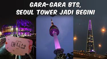 Top 3 hari ini berisi menara Seoul yang berubah jadi ungu karena konser BTS, gempa magnitudo 7,7 mengguncang laut banda, dan update pemilihan wali kota Istanbul.
