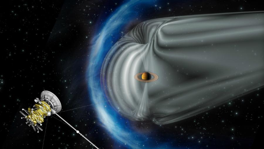 Cassini, pesawat angkasa luar tanpa awak yang dikirim ke Saturnus (Foto: NASA).