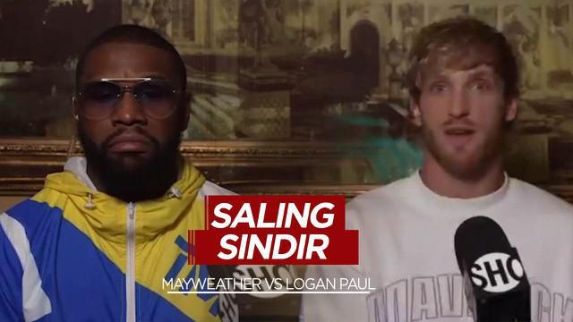 Berita Video Jelang Duel, Floyd Mayweather dan Logan Paul Saling Sindir