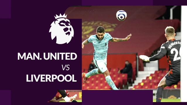 Berita motion grafis data dan statistik kemenangan Liverpool 4-2 atas Manchester United pada pekan ke-35 Liga Inggris 2020/2021.
