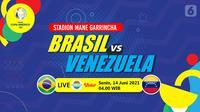 Brasil vs Venezuela (liputan6.com/Abdillah)