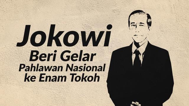 Presiden Joko Widodo memberi gelar pahlawan nasional pada enam tokoh. Salah satunya ialah kakek dari Gubernur DKI Jakarta, Anies Baswedan.