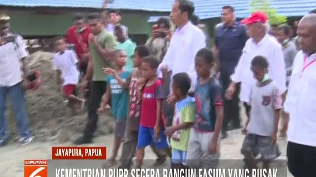 Jokowi menilai bahwa para korban harus segera direlokasi dari tempat rawan bencana. Dan lokasi relokasi nanti akan ditentukan oleh Gubernur Papua maupun Bupati Jayapura.