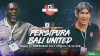 Shopee Liga 1 - Persipura Jayapura Vs Bali United - Head to Head (Bola.com/Adreanus Titus)