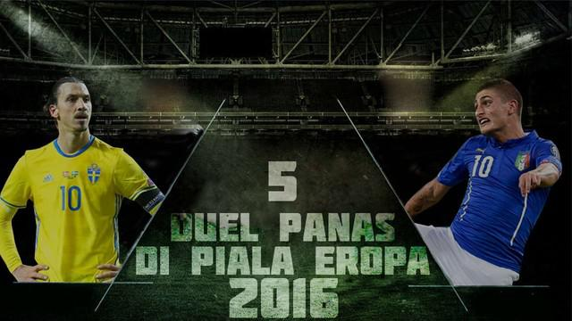 Video duel terpanas di ajang Piala Eropa 2016, salah satunya Granit Xhaka vs Taulant Xhaka kakak-adik kandung membela dengan beda negara.