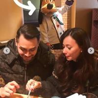 Asmirandah merayakan ulang tahun Jonas Rivanno (Instagram/@asmirandah89)