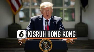 Donald Trump resmi meneken undang-undang yang mendukung demonstrasi pro-demokrasi di Hong Kong. UU ini akan membuat AS bisa menjatuhkan sanksi kepada pelanggar HAM.
