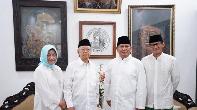 Prabowo-Sandiaga Temui Gu Solah (Dok Tim Prabowo-Sandiaga)