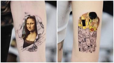 7 Inspirasi Tato dari Karya Lukisan Terkenal Ini Kreatif Banget