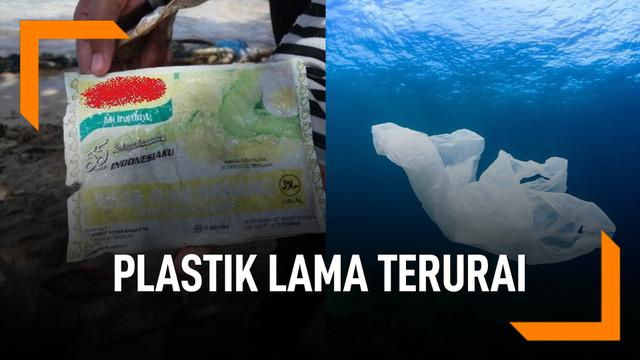 Ini Alasan Sampah Plastik Lama Terurai di Perairan