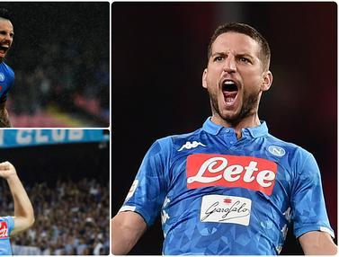 Dries Mertens dan Pencetak Gol Terbanyak di Napoli