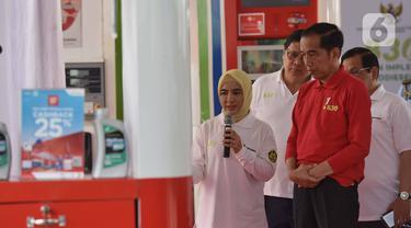 Jokowi Luncurkan Implementasi B30 di SPBU Pertamina