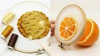 Makanan hasil sulaman 3D. (Instagram/@embroiderycode)