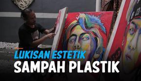 vertical lukisan estetik