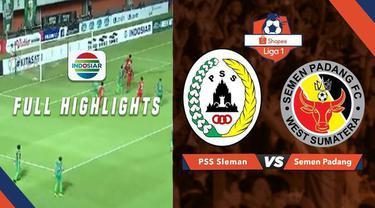 Berita video highlights Shopee Liga 1 2019 antara PSS Sleman menghadapi Semen Padang yang berakhir dengan skor 1-1 di Stadion Maguwoharjo, Sleman, Jawa Tengah, Sabtu (25/5/2019).