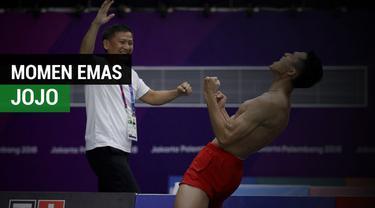 Berita Video Momen Emas Jonatan Christie di Asian Games 2018