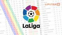 ilustrasi liga spanyol  (Liputan6.com/Abdillah)
