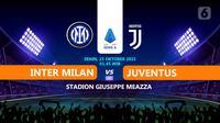 INTER MILAN VS JUVENTUS  (Liputan6.com/Abdillah)
