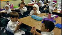 Bahasa Arab, Bahasa yang Paling Cepat Berkembang di AS (VOA/AFP)