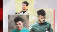 Adi Satrio, Aqil Savik dan Hilman Syah. (Bola.com/Dody Iryawan)