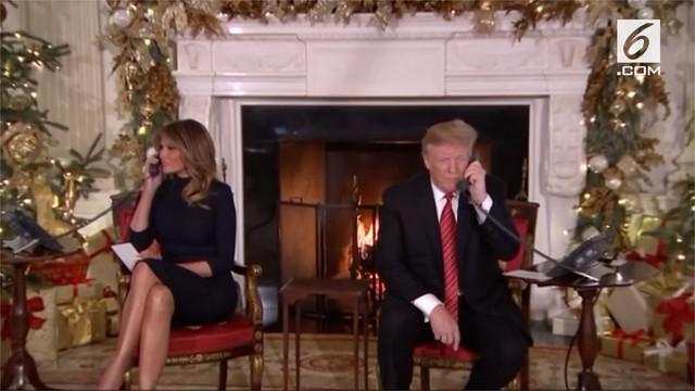 Presiden AS Donald Trump mengucapkan selamat Natal kepada 'fake news media' melalui akun Twitternya.