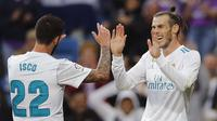 Gareth Bale mencetak dua gol ketika Real Madrid menang 6-0 atas Celta Vigo. (AP Photo/Paul White)