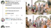 7 Kisah Cinta Netizen (Sumber: Twitter/luluhusnaa)