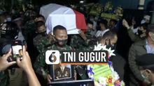 Anggota TNI Roy Vebrianto gugur saat melaksanakan tugas di Papua. Ia ditembak Kelompol Kriminal Bersenjata (KKB) di salah satu pos di Intan Jaya. Jenazahnya tiba di Kabupaten Bandung Sabtu (23/1) malam.