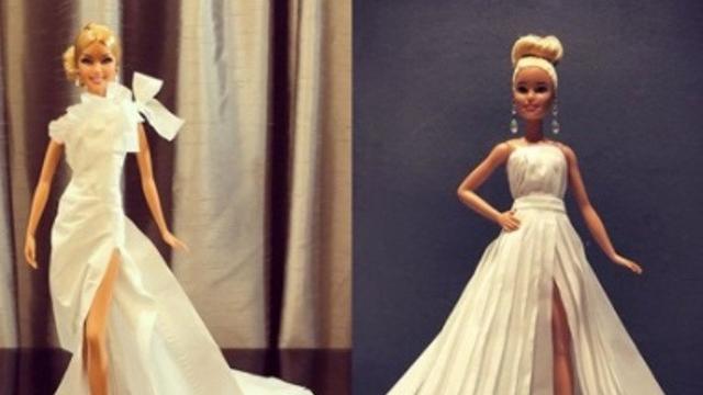 58 Contoh Baju Barbie Dari Tisu Paling Keren