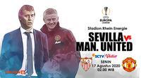 Sevilla vs Manchester United (Liputan6.com/Abdillah)