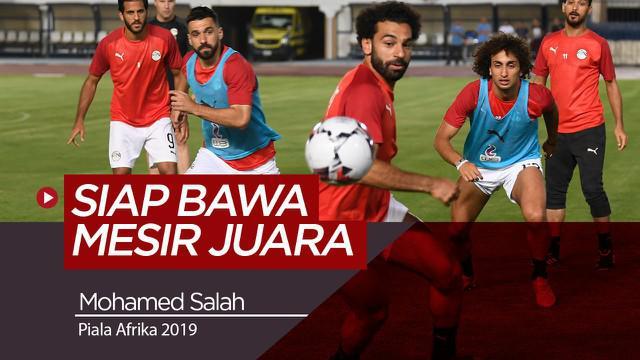 Berita Video Berita Video Mohamed Salah Siap Bawa Mesir Juara Piala Afrika 2019