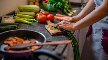 Ilustrasi masakan rumahan