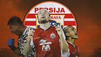 Persija Jakarta - Andritany Ardhiyasa, Marc Klok, Riko Simanjuntak (Bola.com/Adreanus Titus)
