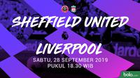 Premier League - Sheffield United Vs Liverpool (Bola.com/Adreanus Titus)